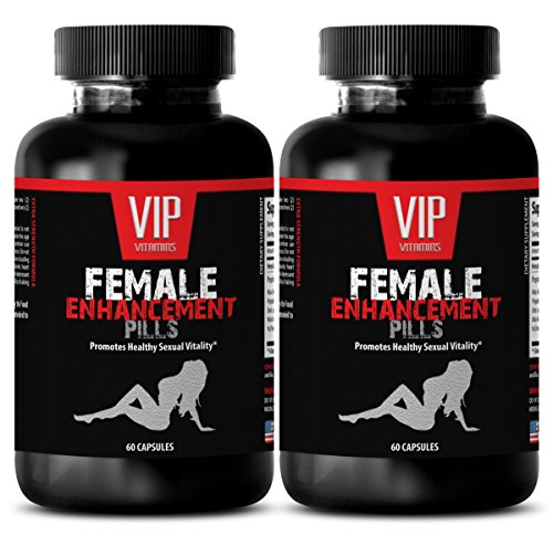 Horny Goat Weed Extract with Maca Root Libido Enhancer – FEMALE ENHANCEMENT PILLS – Sexual enhancement for woman (2 Bottles 120 Capsules)
