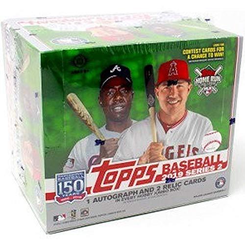 (2019 Topps Series 2 MLB Baseball JUMBO box (10 pks/bx, no bonus packs))