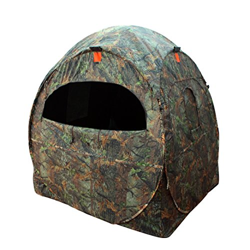 - Leader Accessories Spring Steel Doghouse Hunting Blinds, Camouflage