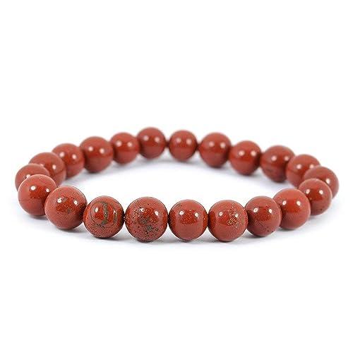 10mm Red Jasper Bracelet
