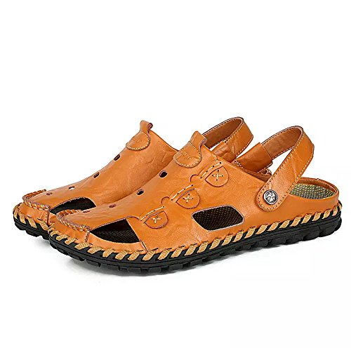 men covered slide sandals - 5