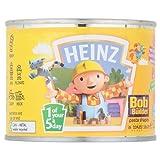 Heinz Bob The Builder Plus Omega Shapes 205g