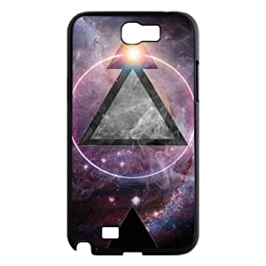 New Classic Cusomized Hard Cover Case for Samsung Galaxy Note 2 N7100 - Triangle star Phone Case LIB712993