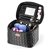 DRQ Large Makeup Travel Bag Printed Multifunction Portable Cosmetic Makeup Pouch Case Organizer for Women Makeup,Beauty Collection Cosmetic Bag,Make Up Bags