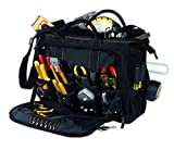Custom LeatherCraft 1539 Multi-Compartment 50 Pocket Tool Bag