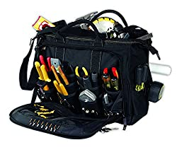 1. CLC Custom Leathercraft 1539 Multi-Compartment 50 Pocket Tool Bag