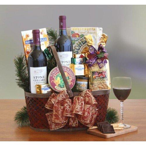 Baskets Valley Napa (Nap Valley Charm Food Gift Basket)