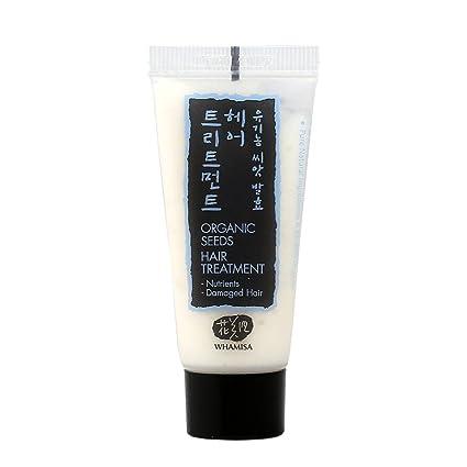 WHAMISA - Tratamiento reparador del cabello - Extractos de semillas fermentadas - Apto para todo tipo