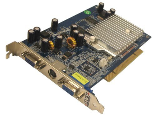 PNY GeForce FX 5200 PCI 256 MB 2 Port VGA + S-Video Graphics Card VCGFX522PEB - Retail by PNY