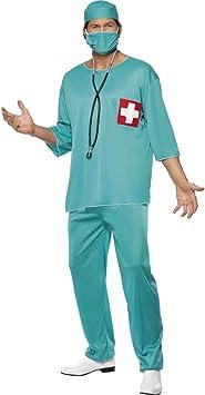 Disfraz de cirujano verde M 48/50 OP de disfraz de médico cirujano ...