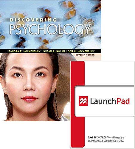 Loose-Leaf Version for Discovering Psychology & Launchpad for Discovering Psychology (Six Month Access)