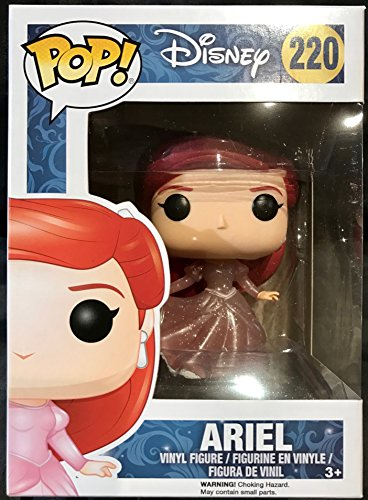 Funko POP Disney: The Little Mermaid - Ariel (Glitter) #220