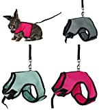 Trixie Pet Products 61514 1.20 m Soft Harness with Leash for Large Rabbits, Various, 25-40cm