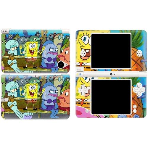SPONGEBOB Nintendo DSI XL NDSI XL Vinyl Skin Decal Sticker +Screen Protectors (Decal Spongebob Set)