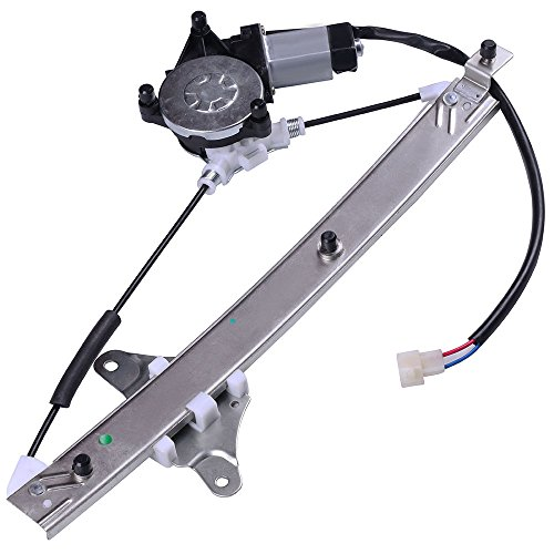 Power Window Regulators Rear Left Drivers Side with Motor Assembly Replacement Parts for 1992-1996 Toyota Camry Sedan