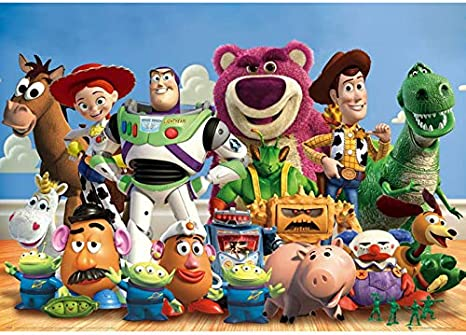 5D Diy Diamond Painting Toy Story Movie Characters