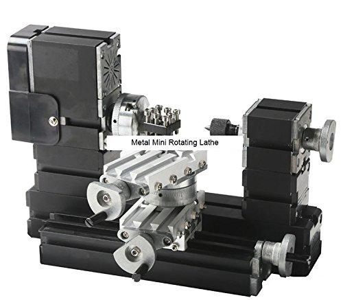 TZ20002MR 60W Metal Mini Rotating Lathe/60W,12000rpm Big Power mini lathe by MUCHENTEC