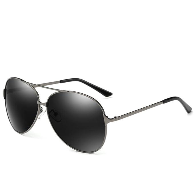 gafas de sol polarizadas/Hombres tallas grandes gafas de sol de conducción/Gran caja
