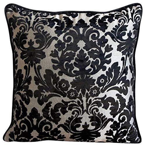 - The HomeCentric Luxury Black Euro Sham, 26