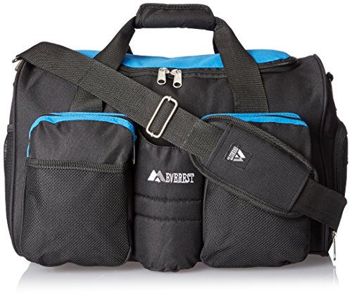 Everest Gym Bag with Wet Pocket, Royal Blue, One Size
