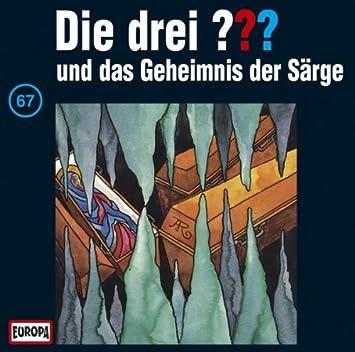 Die Drei Fragezeichen Folge 67 Und Das Geheimnis Der Särge Die Drei 67 Amazon De Musik