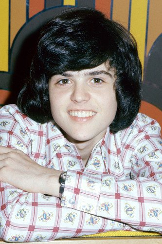 Donny Osmond Classic 1970s Smiling Pose 24x36 Poster