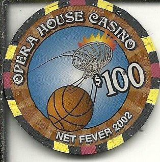 $100 opera house net fever 2002 las vegas casino chip super rare