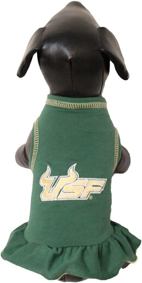 Team Color, Medium NCAA South Florida Bulls Cheerleader Dog Dress