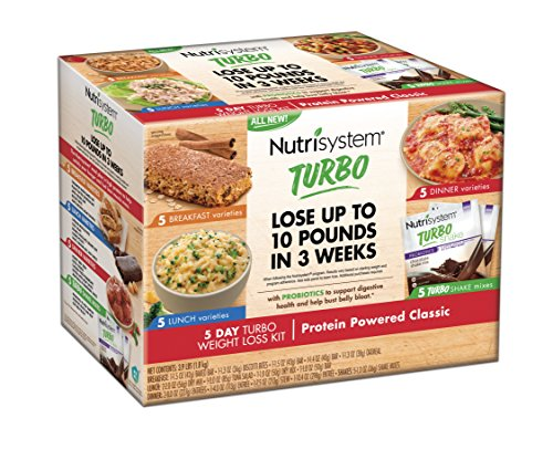 Nutrisystem  5 Day Weight Loss Kit  Turbo Protein Powered Classic
