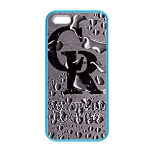 MLB Colorado RockiesCustom Colorful Case for iPhone 5,5s.