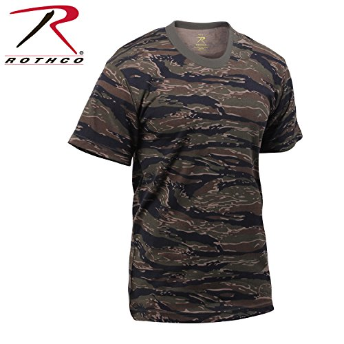 (Mens Camouflage T-Shirt, Tiger Stripe, 2X-Large by Rothco)