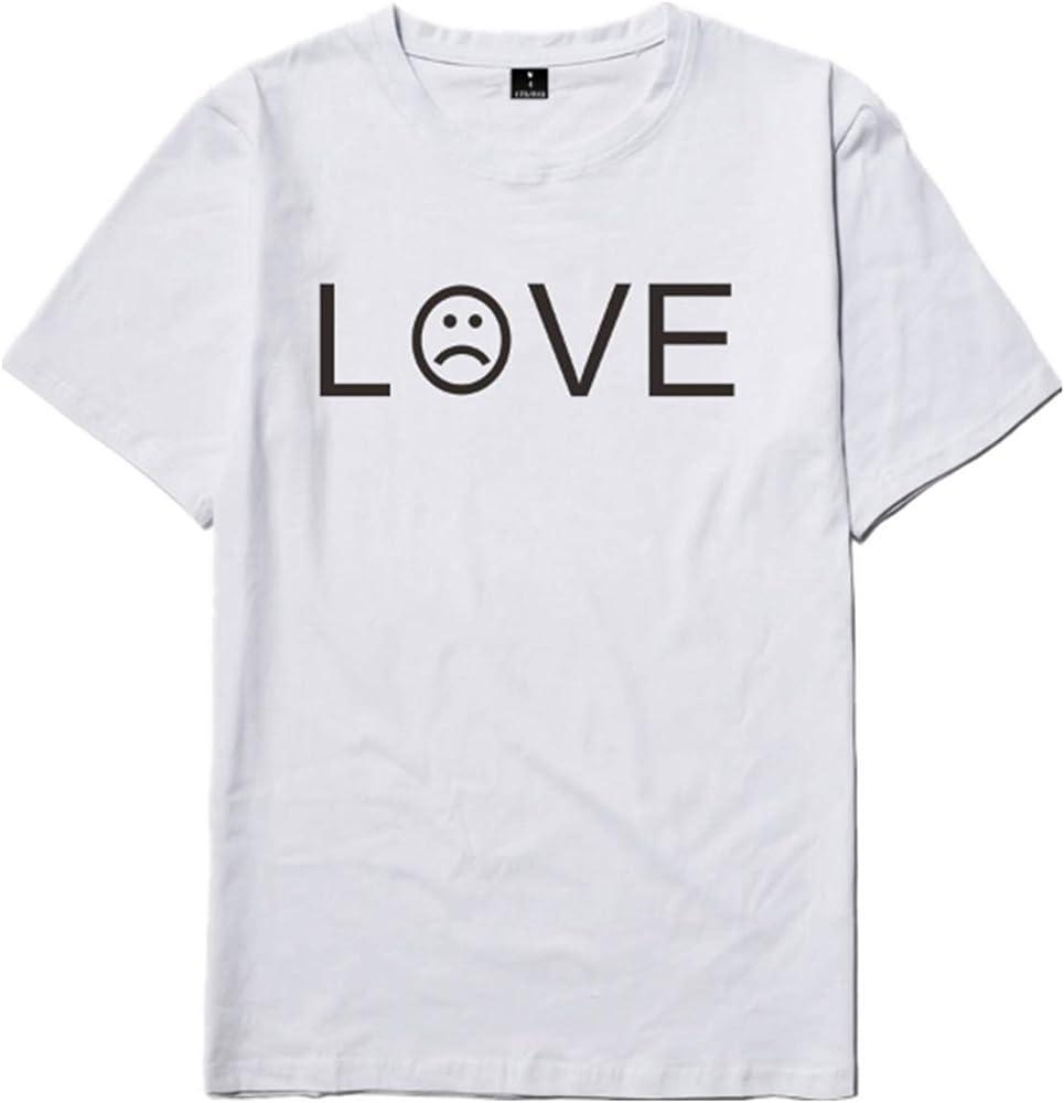SERAPHY Camiseta Unisex R.I.P Cry Baby Rapper Hip Hop Spring Camiseta para Hombre Harajuku Casual Camiseta-5847-WH-XS: Amazon.es: Ropa y accesorios