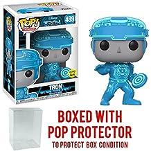 Funko Pop Disney Tron Movie Collectible Vinyl Bobblehead Figure + Pop Protector
