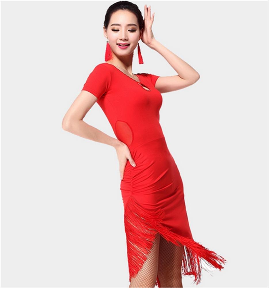 rouge XXL Les Femmes coulent Robe de Danse Sula Ding Plus de Couleurs