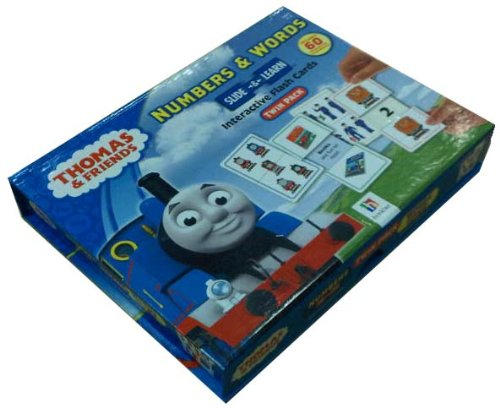Thomas & Friends Numbers & Words Slide & Learn Interactive Flash Cards Twin Pack
