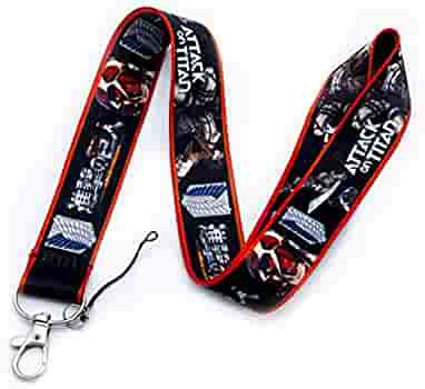 Details about  /lot Cartoon Japanese anime Neck Straps Key Chains Lanyard ID Holder