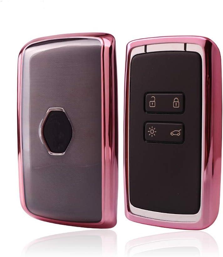 KAKTUS Renault & Dacia Funda de protección para Llave de Coche Smart Key de Renault & Dacia (Sólo versión sin Llave/versión Keyless Go): Amazon.es: Coche y moto