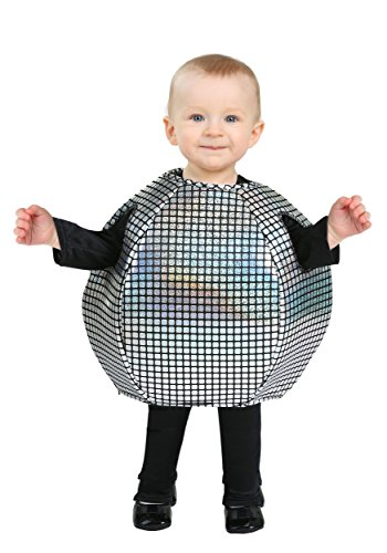 Infant Disco Ball Costume 6/12 Months (Disco Ball Halloween Costume)