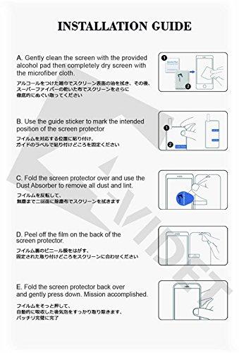 【YEZHU】ASUS ZenFone Max Pro (M2) ZB631KL 3Dフルカバー 日本旭硝子 フィルム 硬度9H 耐衝撃 撥油性 超耐久 耐指紋 飛散防止処理保護フィルム 【全画面貼る可能】液晶画面全面タイプ (ブラック)