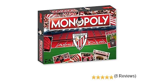 Athletic Club Bilbao Monopoly Athlétic Club (81120), Multicolor, Ninguna (Eleven Force: Amazon.es: Juguetes y juegos