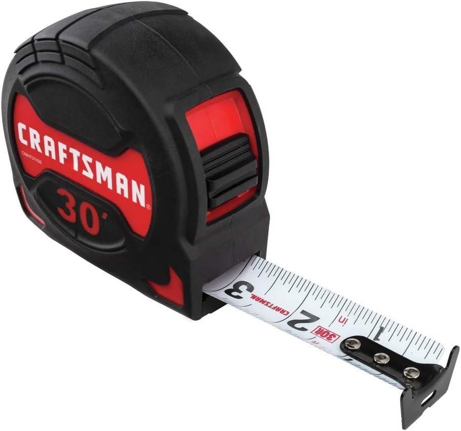 CRAFTSMAN Tape Measure, PRO-10, 30-Foot (CMHT37430S)