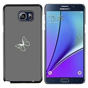 Stuss Case / Funda Carcasa protectora - Bianco - Samsung Galaxy Note 5