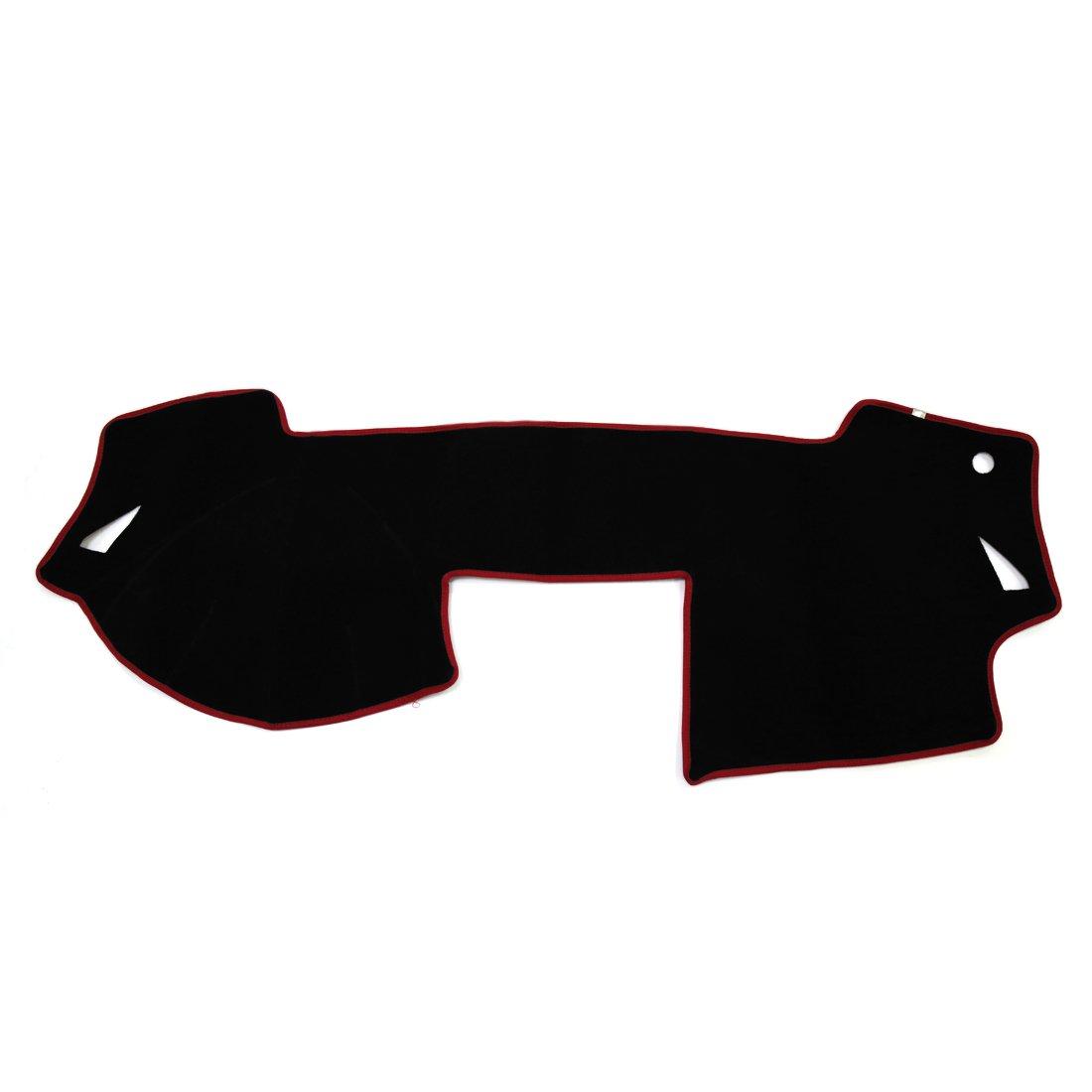 uxcell Car Inner Dash Sun Cover Dashboard Dashmat Mat Carpet Pad for Mazda 6 Atenza