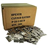 i can can opener - 500 Pack of G.I. P-38 Can Openers