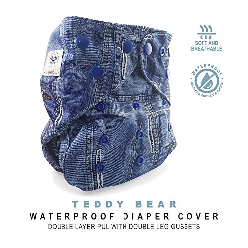 Baby Tooshy Cloth Diaper Covers with Double Gussets. Waterpr