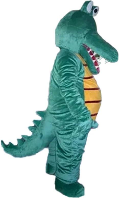 DREAM--STORE Verde cocodrilo Mascota Disfraz para Halloween ...