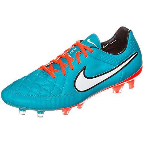 Nike Tiempo Legend V FG, Men's Footbal Shoes NEO TURQ/HYPER CRIMSON/BLACK/WHITE
