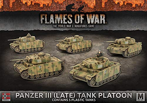 Flames of War: Mid War: German: Panzer III (Late) (GBX122)