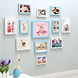 ZGP Home@Wall photo frame Heart-shaped Photo Wall/Frame Wall Hanging Photo Wall Creative Home Send-core (Color : C)