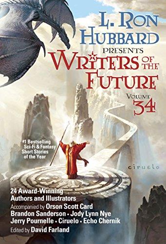 Writers of the Future Vol 34: #1 Bestselling Sci-Fi & Fantasy Short Stories of the - Jeremy Scott Black